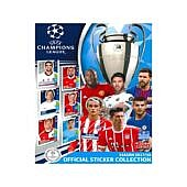 UEFA CL kleepsualbum 17/18