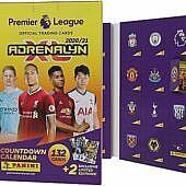 Jalgpalli jõulukalender Adrenalyn XL 2020/21