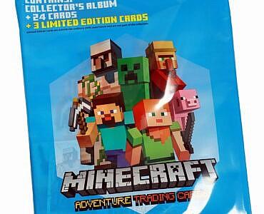Minecraft kogumiskaartide starter